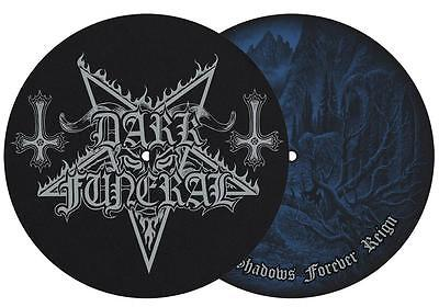 DARK FUNERAL DJ SLIPMAT FILZMATTE WHERE SHADOWS FOREVER REIGN - 2er SET