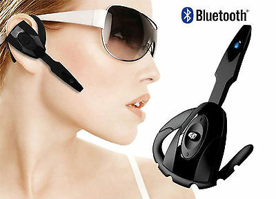 Bluetooth Wireless Headset Earphone Handsfree With Mic For Samsung Galaxy S4 S5