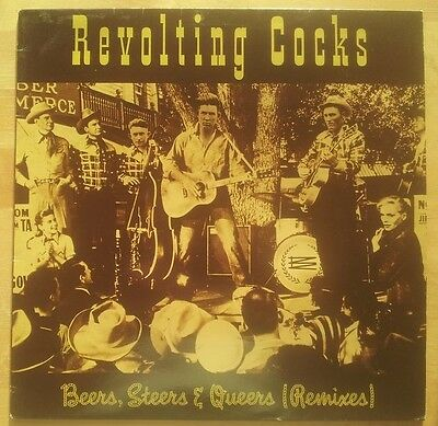 Revolting Cocks - Beers, Steers & Queers (Remixes) 12""