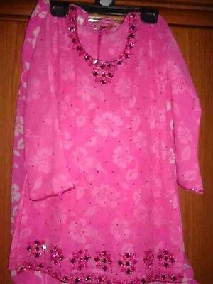 "Gorgeous Salwar Kameez - perfect for Eid (age 6-7) sz 28"" chest - must see!"