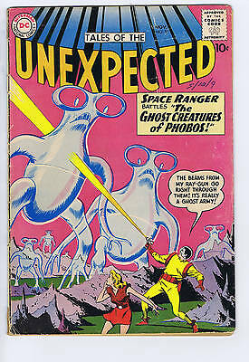 Tales of the Unexpected #55 DC Pub 1960