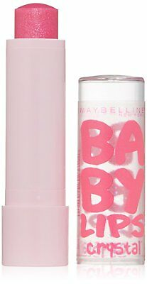 Maybelline Baby Lips Crystal Moisturizing Lip Balm -140 Pink Quartz- New