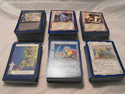 Middle Earth, Blue Border Premiere Complete Set Of 484 Cards