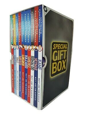 Football Series 9 Books Collection Gift Wrapped Slipcase Specially for you New