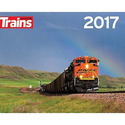 Trackside with Trains Wall Calendar