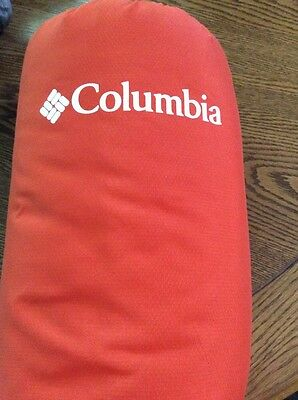 NWT Columbia Indoor / Outdoor Throw - orange - $119