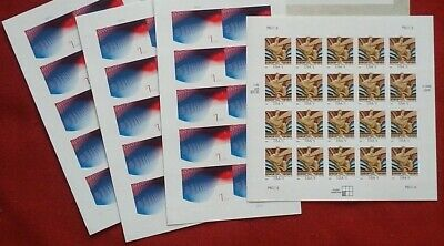 Combo: 1 GIFTS OF FRIENDSHIP, 3 PATRIOTIC WAVE & 1 WISDOM US New Postage Stamps