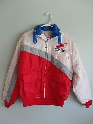 Vintage Honda Racing Team Jacket- mechanic - CR Elsinore Motocross MX ARMHA