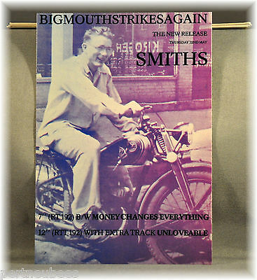SMITHS Bigmouthstrikes... Vtg UK Postcard(s) Orig and Mint x5 pack of FIVE PC's