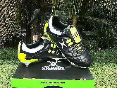 Gilbert Rugby Union Football Screw In Studs  Boots 13 Usa 12 Uk
