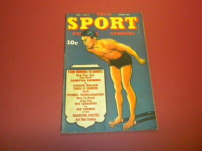 TRUE SPORT PICTURE STORIES Volume 3 #2 Street & Smith 1945