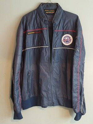 Vintage Jacket w/ Patch - Budweiser Cleveland Grand Prix - Road Race Racing