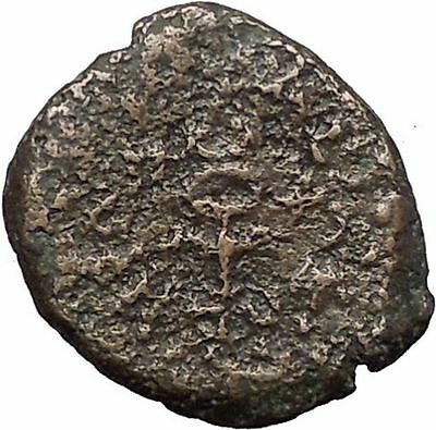 HEROD I the GREAT 40BC Biblical Jewish SAMARIA Rare Ancient Greek Coin i56336