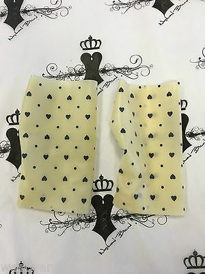 R1649 Rubber Latex Mitts SMALL *MADE+DESIGNED IN UK* SECONDS RRP £26.57