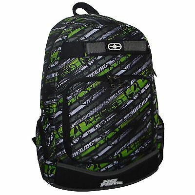No Fear Print Skate Back Pack Travel Luggage Everyday Casual Bag Accessories