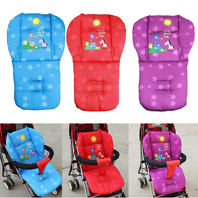 Baby Infant Stroller Cushion Giraffe Cart Seat Pad Pushchair Cotton Thick Mat