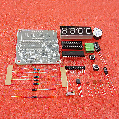 5PCS AT89C2051 Digital 4 Bits Electronic Clock Electronic Production Suite DIY