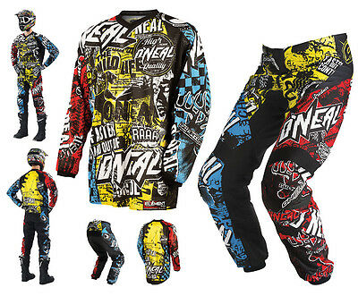 ONEAL Element Wild Combo multi Hose & Jersey Motocross Enduro