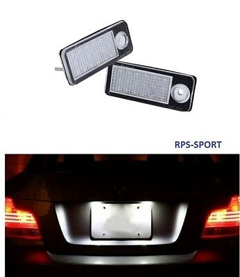 Feux Arriere Led Blanc Eclairage De Plaque Immatriculation Audi A6 Break C5 2.4