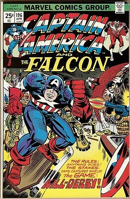 Captain America #196 - VF-