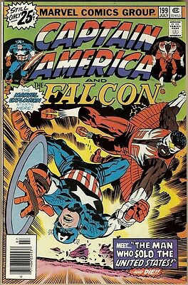 Captain America #199 - VF+