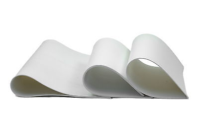 SILICONE RUBBER SHEET - WHITE - FOOD GRADE - 1.50mm thick