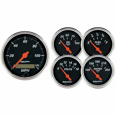 Autometer New Set of 5 Gauge Sets
