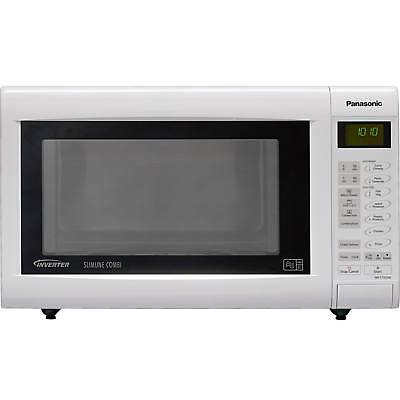 Panasonic White 27L Slimline Combination Microwave Oven and Grill:Official Argos