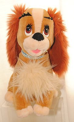 Disney Parks Lady & The Tramp Large 15 Inch Lady Soft / Plush Toy