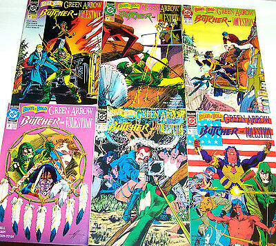 BRAVE AND THE BOLD #1-6 NM- Full Set! GREEN ARROW! MIKE GRELL! DC 1991