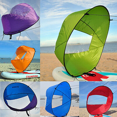 "42"" Large Downwind Wind Paddle Popup Board Kayak Sail Wind Sail Accessories"