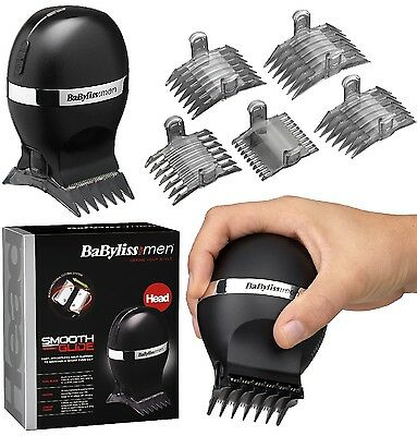 New BaByliss 7575U Smooth Glide Clipper Rechargeable Hair Trimmer - Black