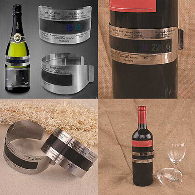 Stainless Steel Wine Thermometer 4--26℃ Red Wine Temperature Sensor