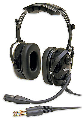AirClassics HS-1A Headset   pilot aviation