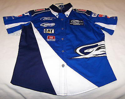 Ford Performance Racing FPR Ladies Short Sleeve Pit Crew Shirt Size 10 New