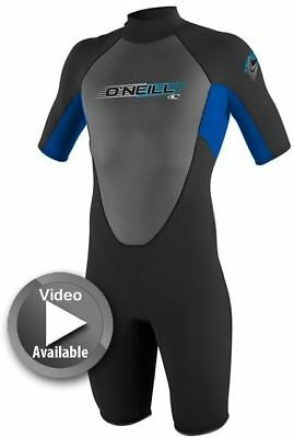 O'Neill Reactor Youth Wetsuit Springsuit 2mm Shorty Boys Girl Kids Wetsuit BEST