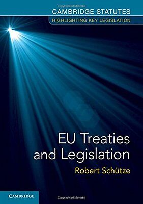 EU Treaties and Legislation, , Very Good condition, Book