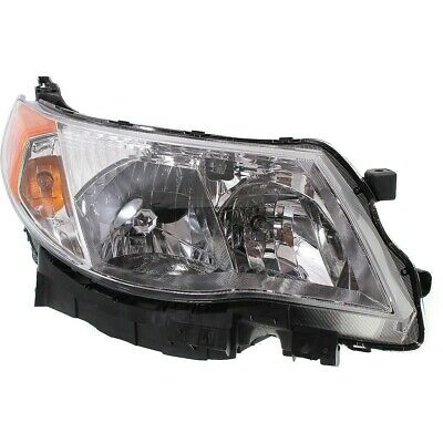 Headlight For 2009 2010 2011 2012 2013 Subaru Forester Right With Bulb