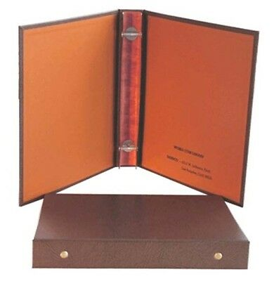 """Dansco 5/8"""" Coin Album Binder Holds 2 - 4 Pages"""