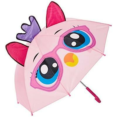 Mystic 2789 Girls Pink Sateen Critter Decorative Umbrella O/S BHFO