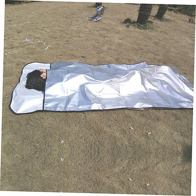 New Emergency Blanket Survival Rescue Insulation Curtain Outdoor Life-saving GU