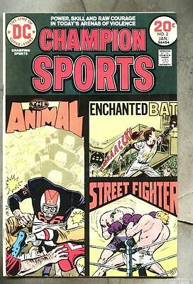 Champion Sports #2-1973 vg Joe Simon Jerry Grandenetti
