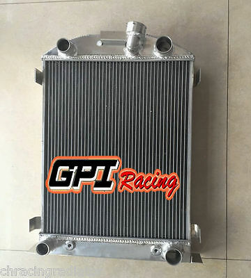 56MM aluminum radiator FOR Ford hot rod w/flathead V8 engine auto 1932 32
