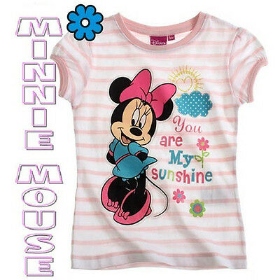 MINNIE MOUSE Camiseta Niña 4 Años Personaje Dibujos Disney TV CLUB HOUSE NEW