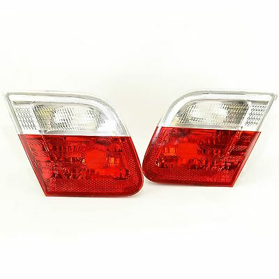 Bmw 3 Series E46 1998-2003 Coupe Rear Tail Lights 1 Pair O/s & N/s