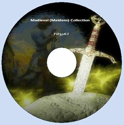 Medieval Collection Art & Craft card Making images CD Rom