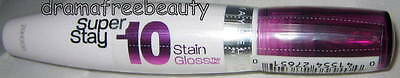 Maybelline Super Stay 10 Hour Stain Gloss 160 * *LUXURIOUS LILAC* * New & Sealed