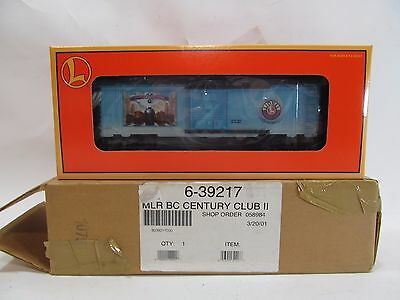 Lionel Century Club II Boxcar in C-9 New Original Box & Shipping Box