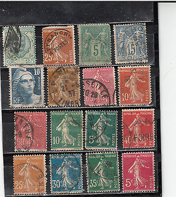 Lot 881-Nice lot of 16 old Europe mix