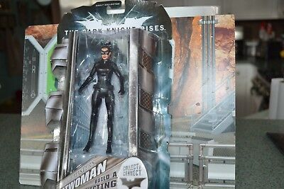 Dc Universe THE DARK KNIGHT RISES CATWOMAN mip MOVIE MASTERS